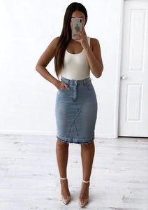 MIA DENIM SKIRT