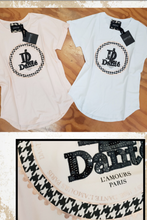 DANTE Boyfriend Tee White or Blush