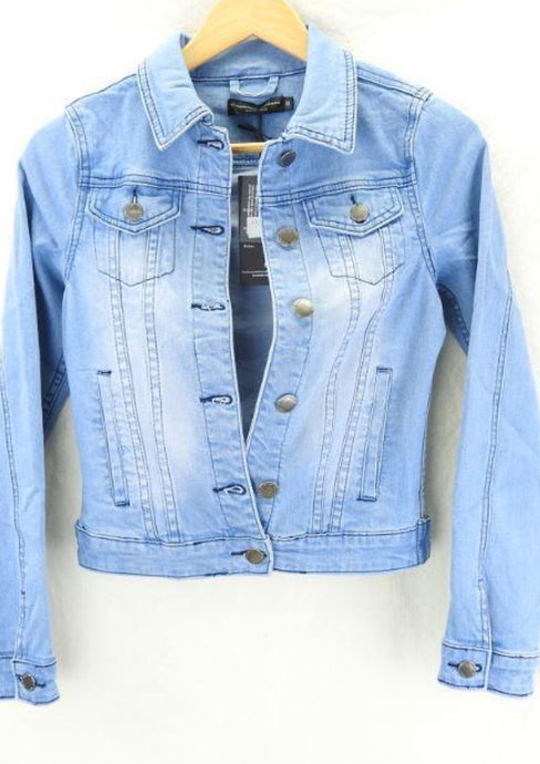 Blue Wash Denim Jacket