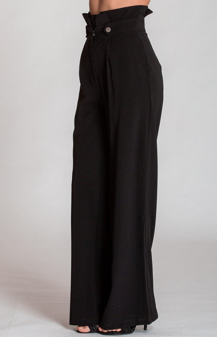 Angelina button pants Black
