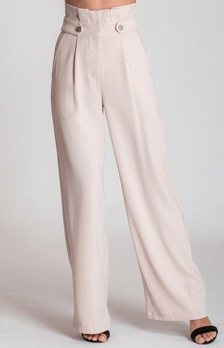 Angelina button pants Beige