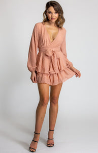 Trills Peach Playsuit