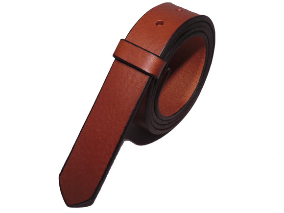 Brown Leather Belt Straps