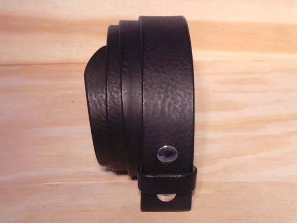Black Leather Belt Strap