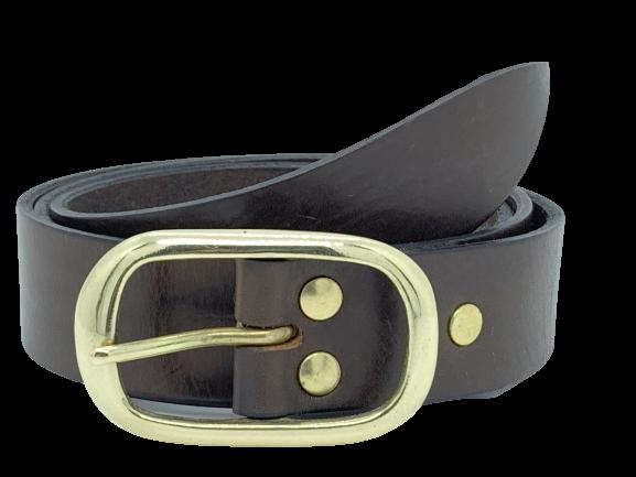 1.25 Inch Leather Belt