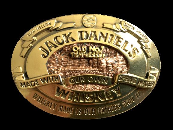 Jack Daniels Licensed Belt Buckle