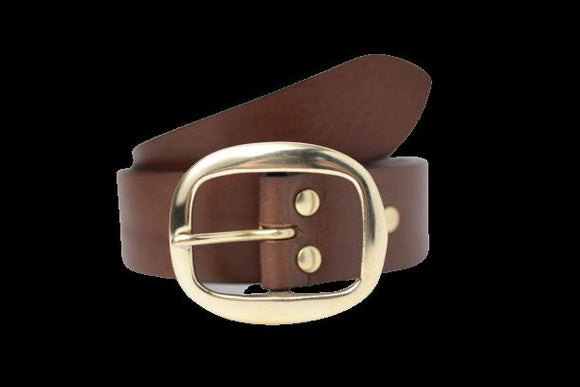 1 1/2 Inch Leather Belt