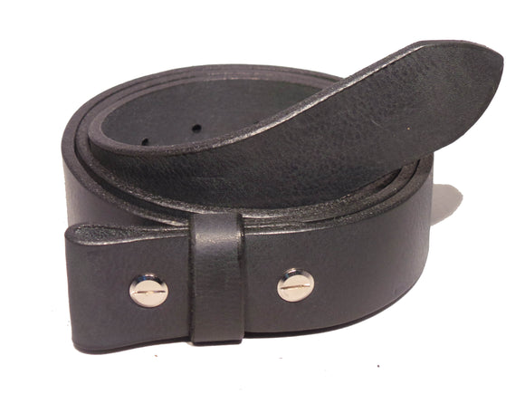 1 1/8 Inch Leather Strap Chicago Screws