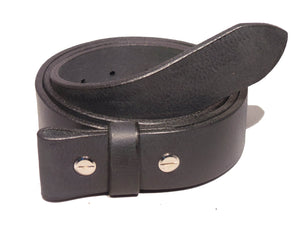 1 3/8 Inch Leather Strap Chicago Screws