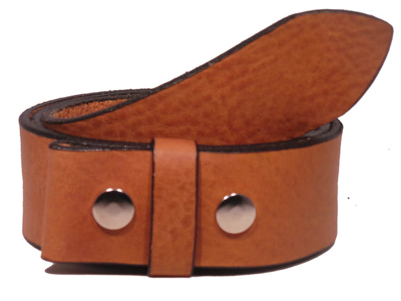 1.75 Dark Tan Belt Strap