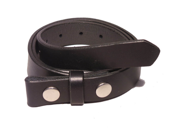 1 Inch Leather Belt Strap