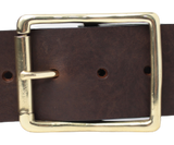 2 Inch Dark Brown Jean Belt