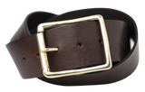2 Inch Wide Dark Brown Belt