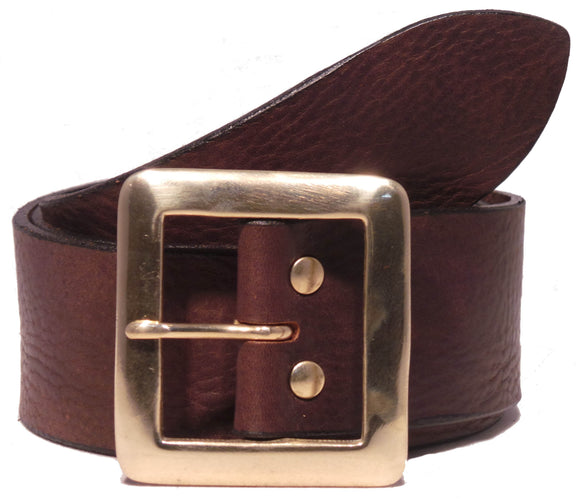 Dark Brown 2 Inch Jean Belt