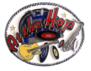 At The Hop Belt Buckle