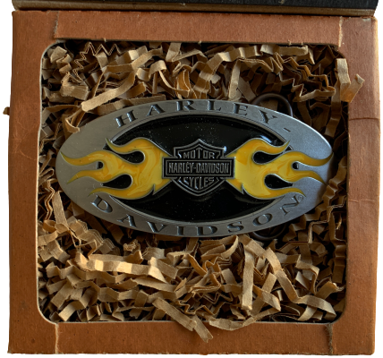 Boxed Official Harley Belt Buckle