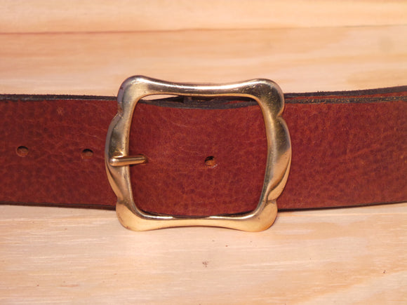 1 3/4 Inch Designer Leather Belt