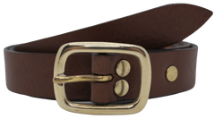 1 Inch Wide Leather Belts