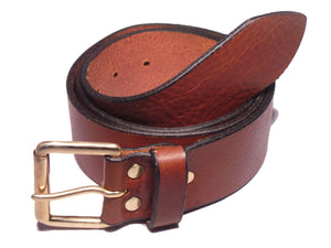 Brown 1 3/4 Inch Leather Belt