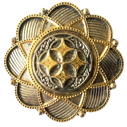 Celtic Flower Shape Belt Buckle