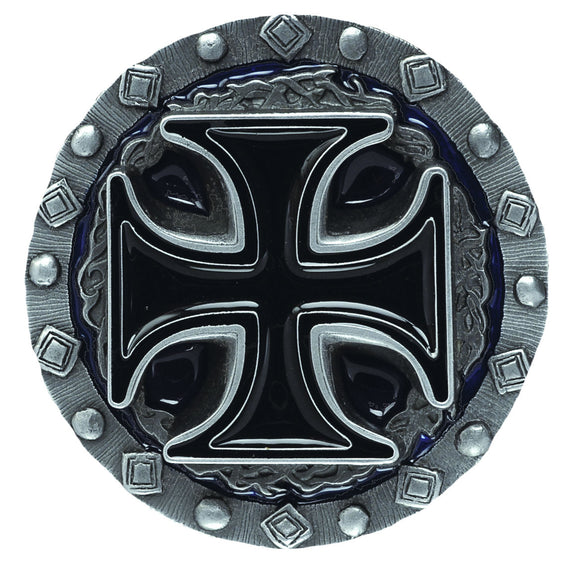 Cross and Thorns Belt Buckle