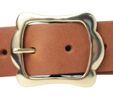 Dark Tan Women's Jean Belt
