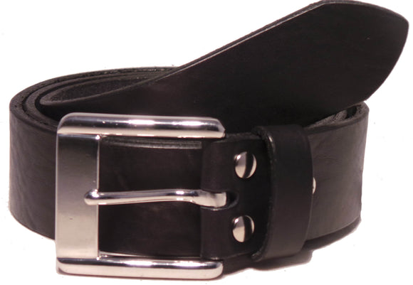 Designer Black Trouser Belt