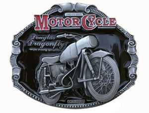 Douglas Dragonfly Motorcycle Belt Buckle
