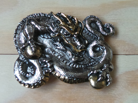 Full Dragon Belt Buckle