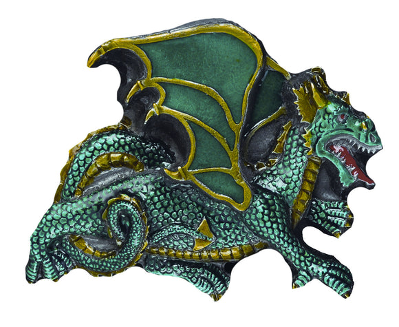 Dragon Green Belt Buckle