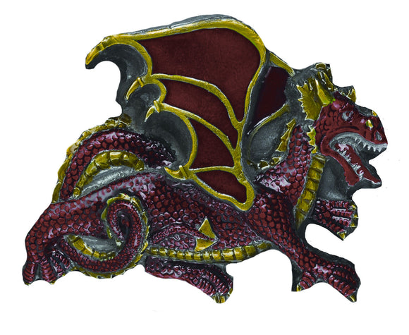 Dragon Red Belt Buckle
