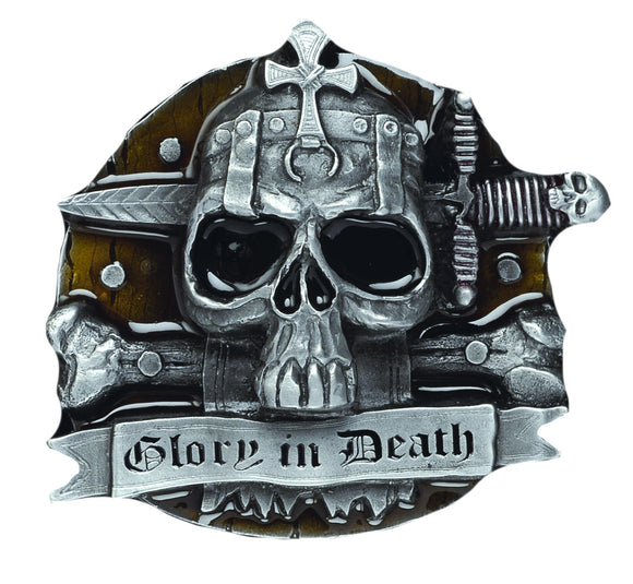 Glory in Death Belt Buckle