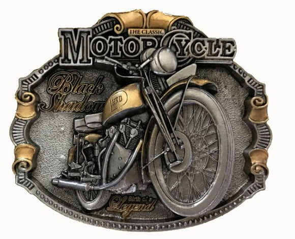 H R D Vincent Gold Belt Buckle