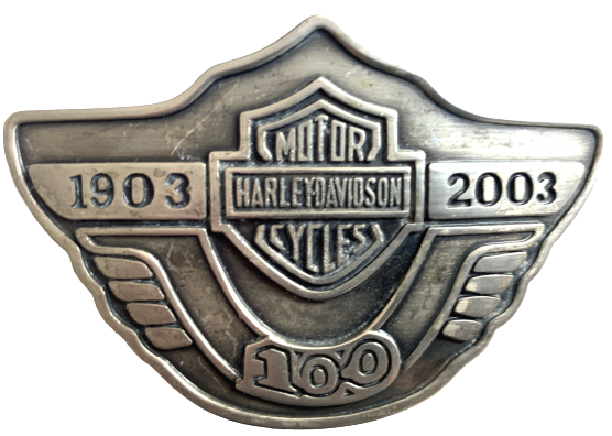 Harley Davidson 1903 to 2003 100 Year Belt Buckle