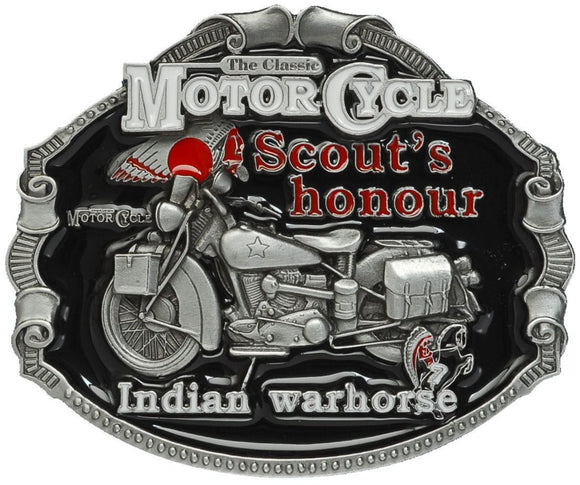 Indian Motorcycle Belt Buckle