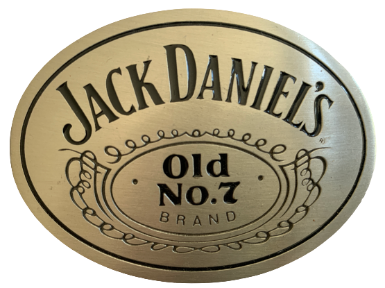 Jack Daniels Old No 7 Brand Belt Buckle
