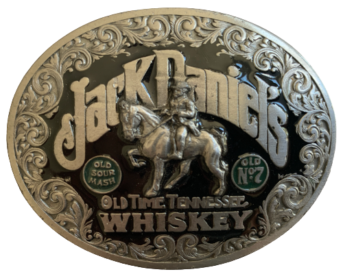 Jack Daniels Old Time Tennessee Whiskey Belt Buckle