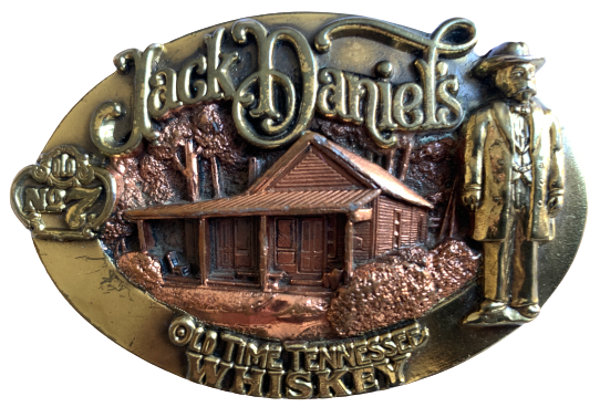 Jack Daniels Tennessee Belt Buckle