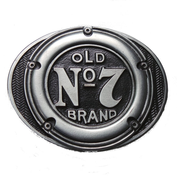 Jack Daniels Gas Cap Old No.7 Belt Buckle