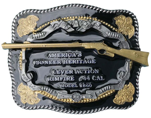Lever Action 44 Belt Buckle