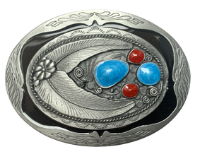 Oval Design Belt Buckle