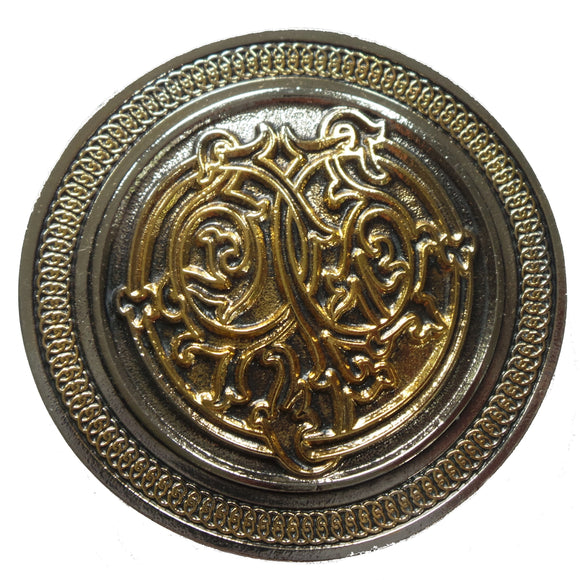 Celtic Round Border Design Belt Buckle