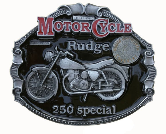 Rudge 250 Special Motorcycle Belt Buckle