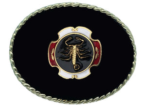 Scorpion Black Belt Buckle