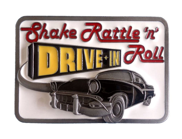 Shake Rattle N Roll Belt Buckle