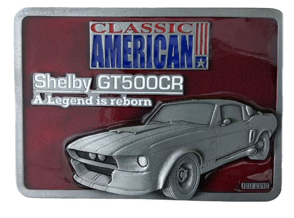 Shelby Mustang Belt Buckle