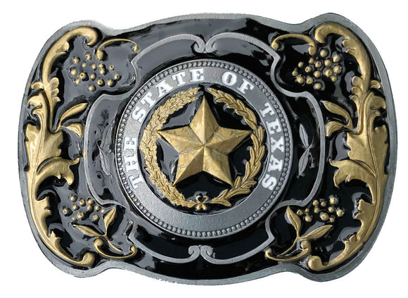 The State of Texas Belt Buckle