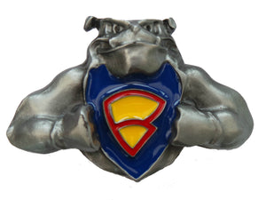 Super Dog Belt Buckle