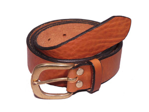 Tan Leather Trouser Belt
