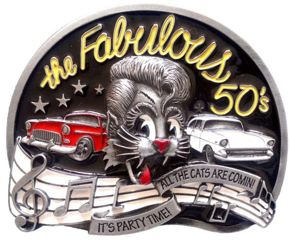 The Fab 50s Belt Buckle
